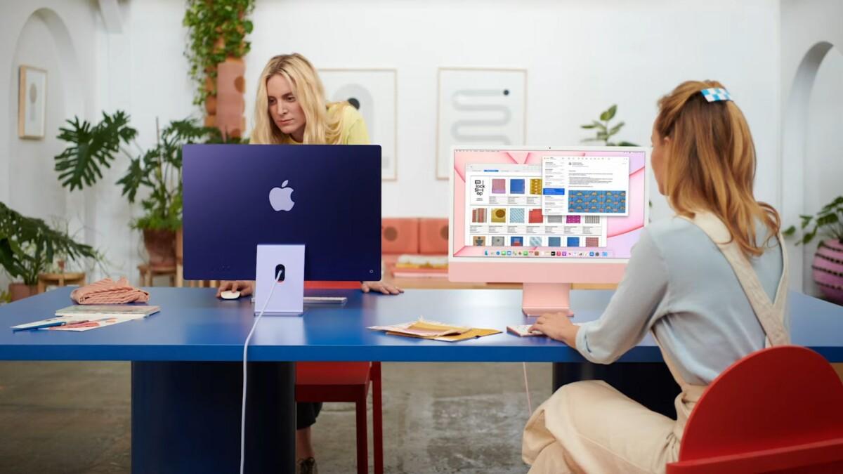 L'iMac M1 d'Apple