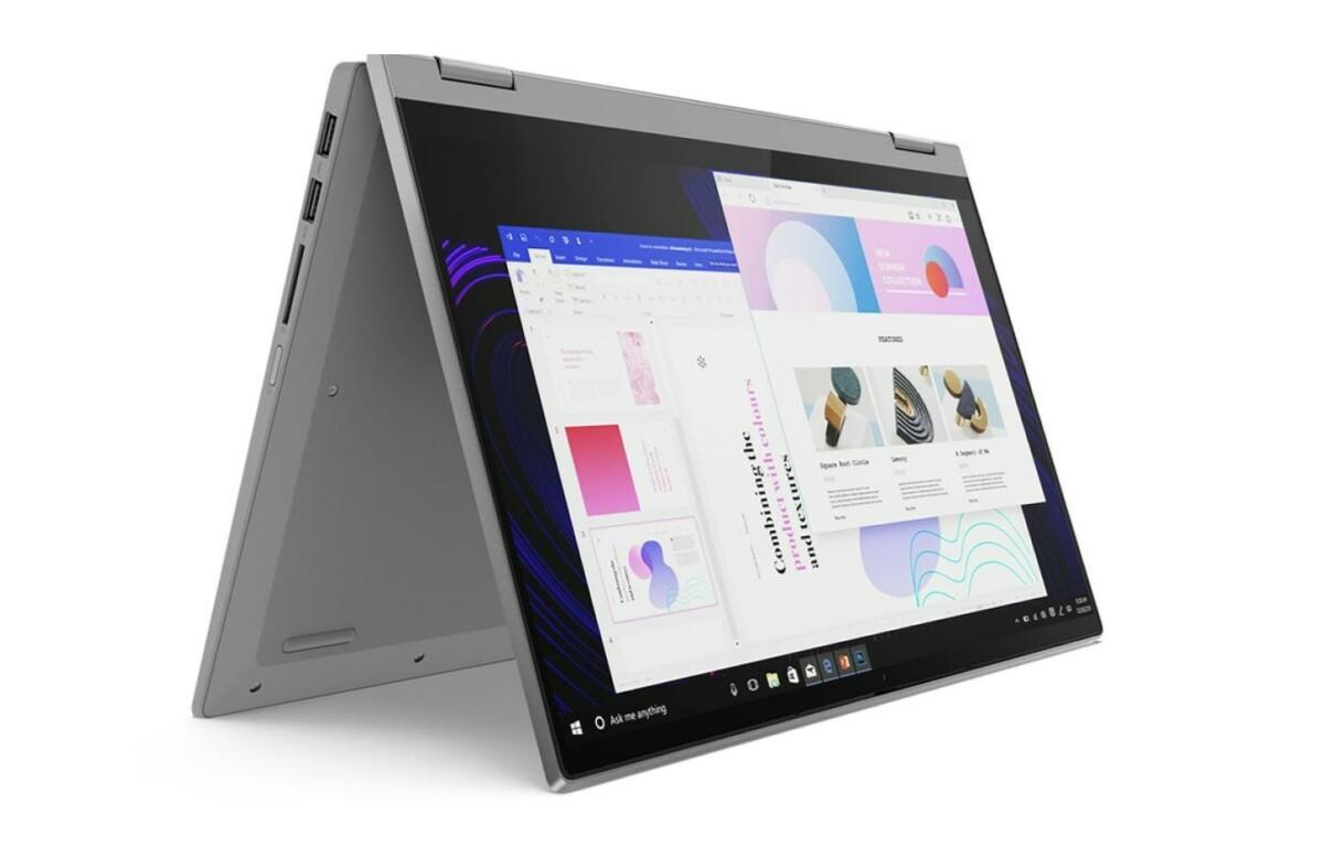 Lenovo : le laptop 2-en-1 équipé d'un Ryzen 7 5700U est à -25 % chez Darty