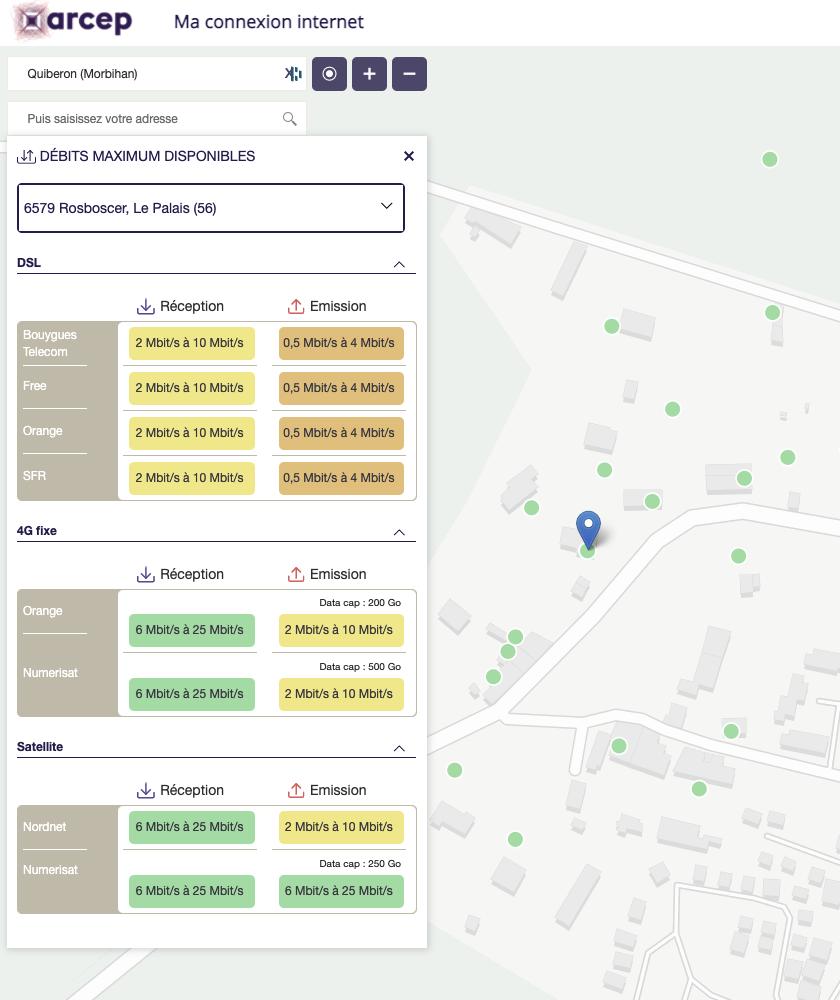 «Ma connexion internet», un nouvel outil pour identifier les débits internet disponibles chez vous