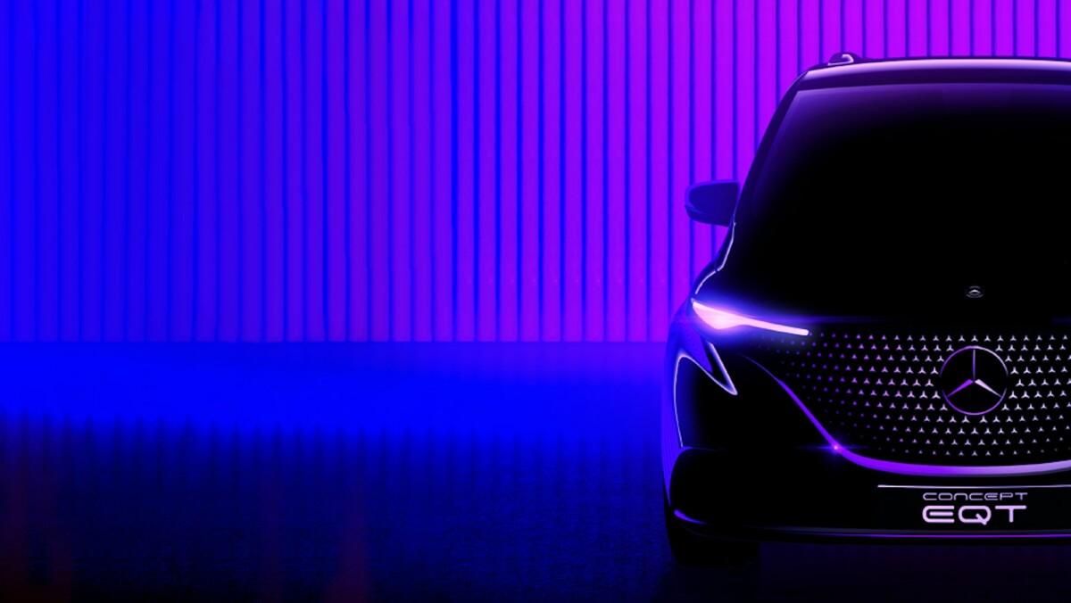 Le teaser du Mercedes EQT