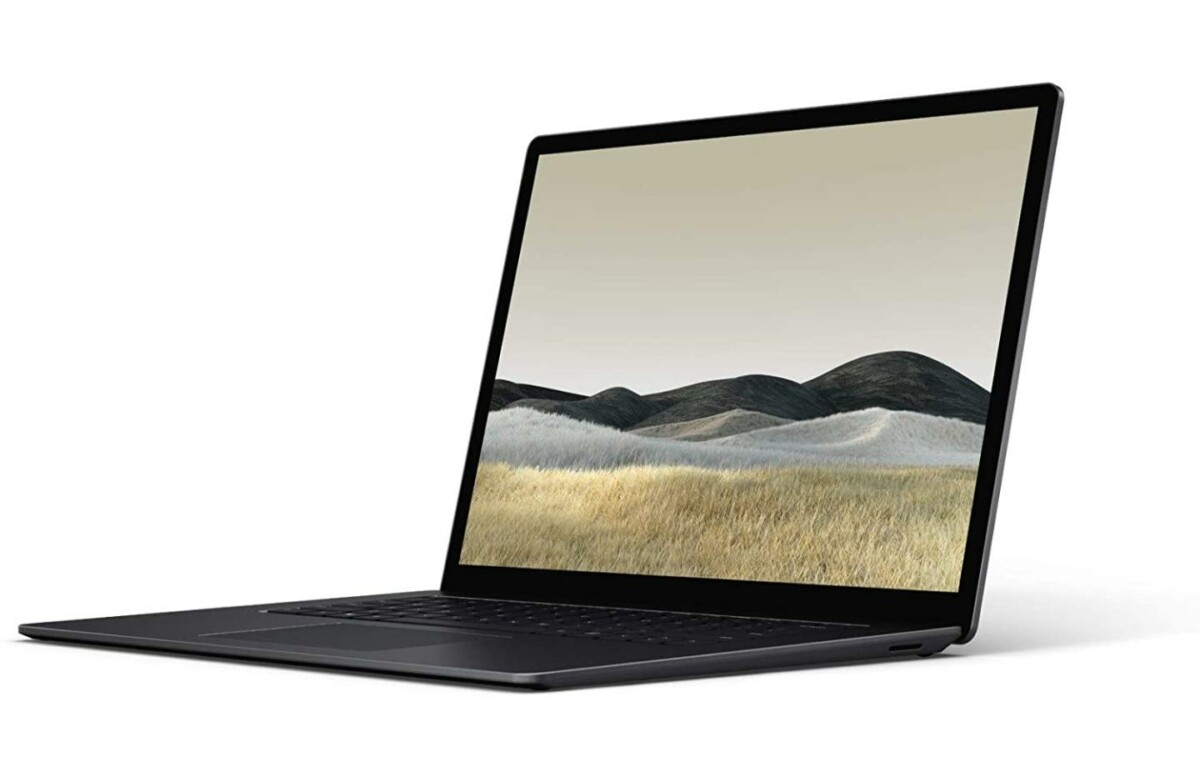 Le prix du Microsoft Surface Laptop 3 (i5 + SSD 256 Go) est en baisse de 470 €