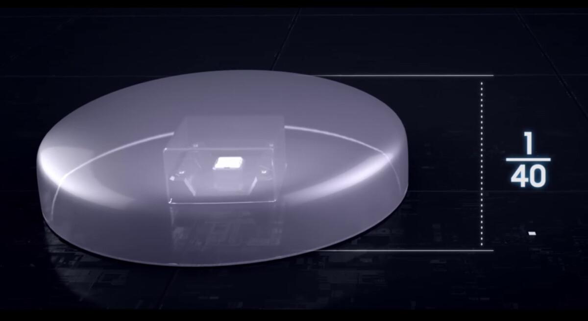 Les mini LED sont 40x plus petites que les LED conventionnelles