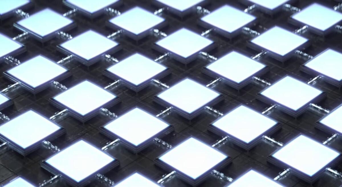 Un panneau de Mini LED / Source: Samsung