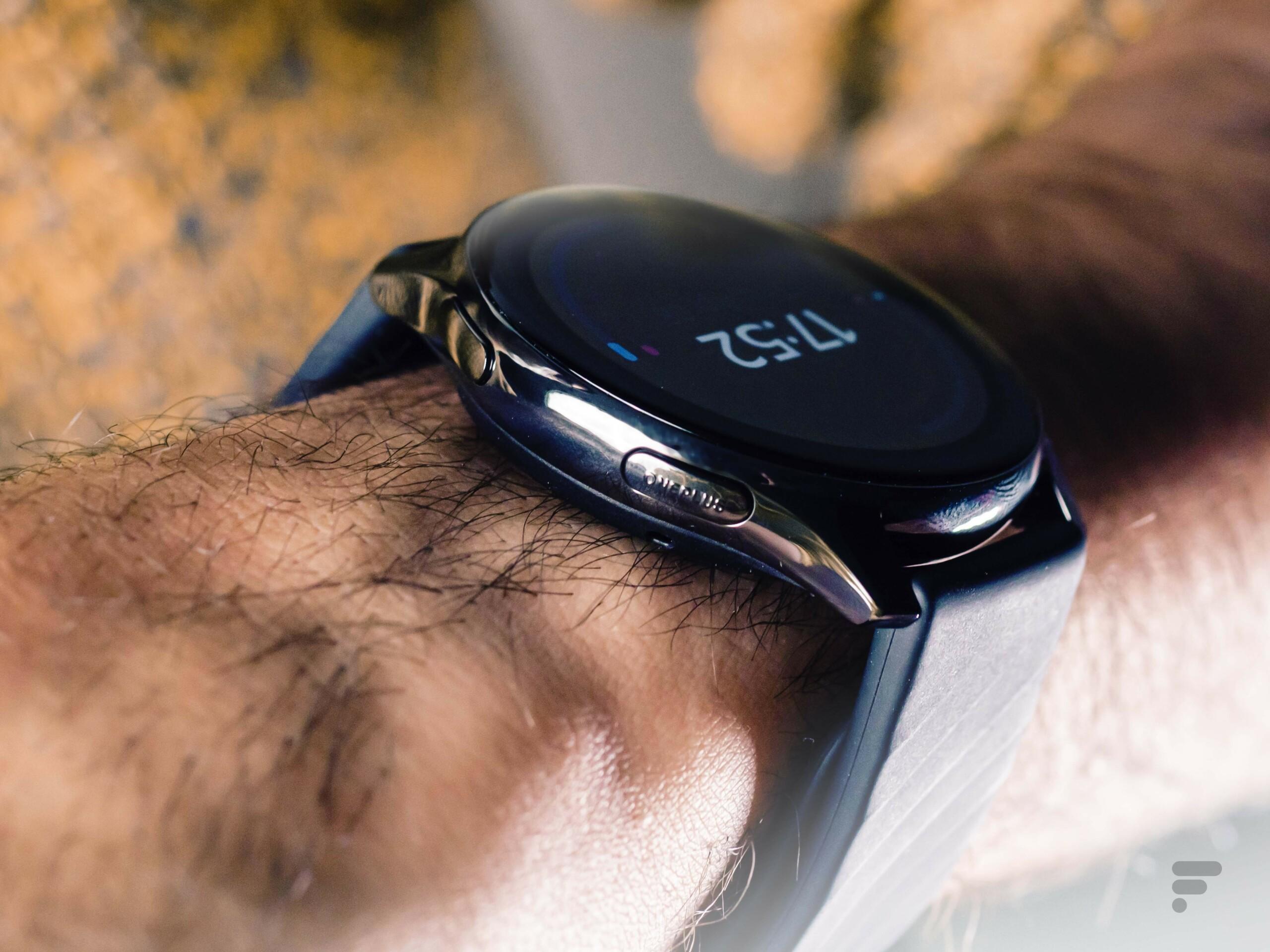 Les boutons physiques de la OnePlus Watch
