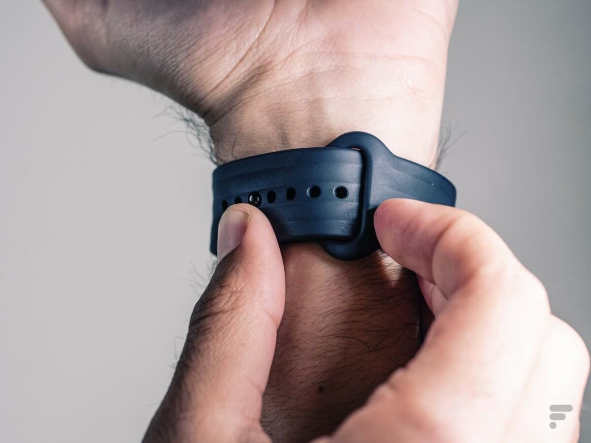 Le bracelet en caoutchouc de la OnePlus Watch