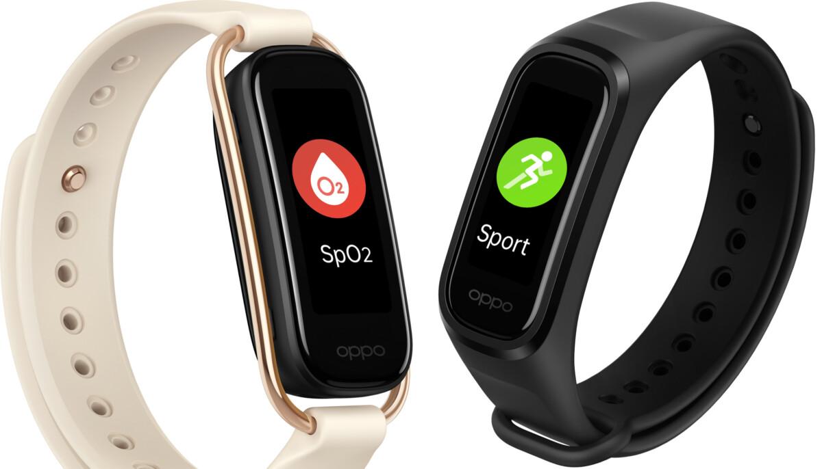Le bracelet connecté Oppo Band