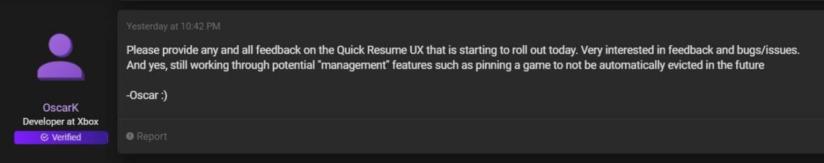 Xbox Series X   S : Quick Resume s'améliore, mais Microsoft doit aller plus loin
