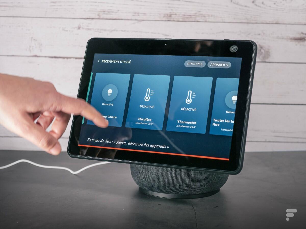 L'Echo Show 10 permet de piloter sa maison connectée