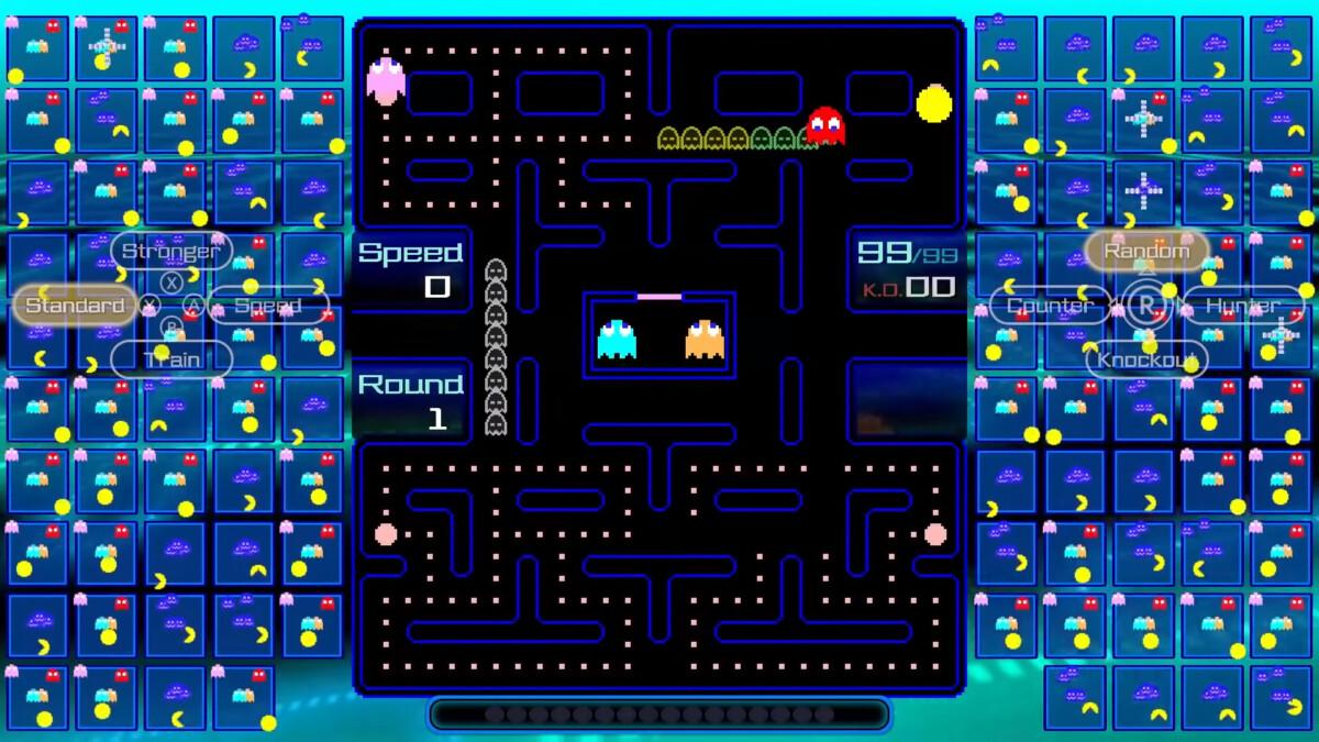 Pac-Man 99 sur Nintendo Switch Online face à vos adversaires