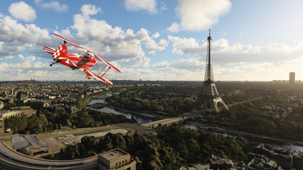 Toute la capitale et les monuments ont été scannés en 3D pour intégrer Flight Simulator
