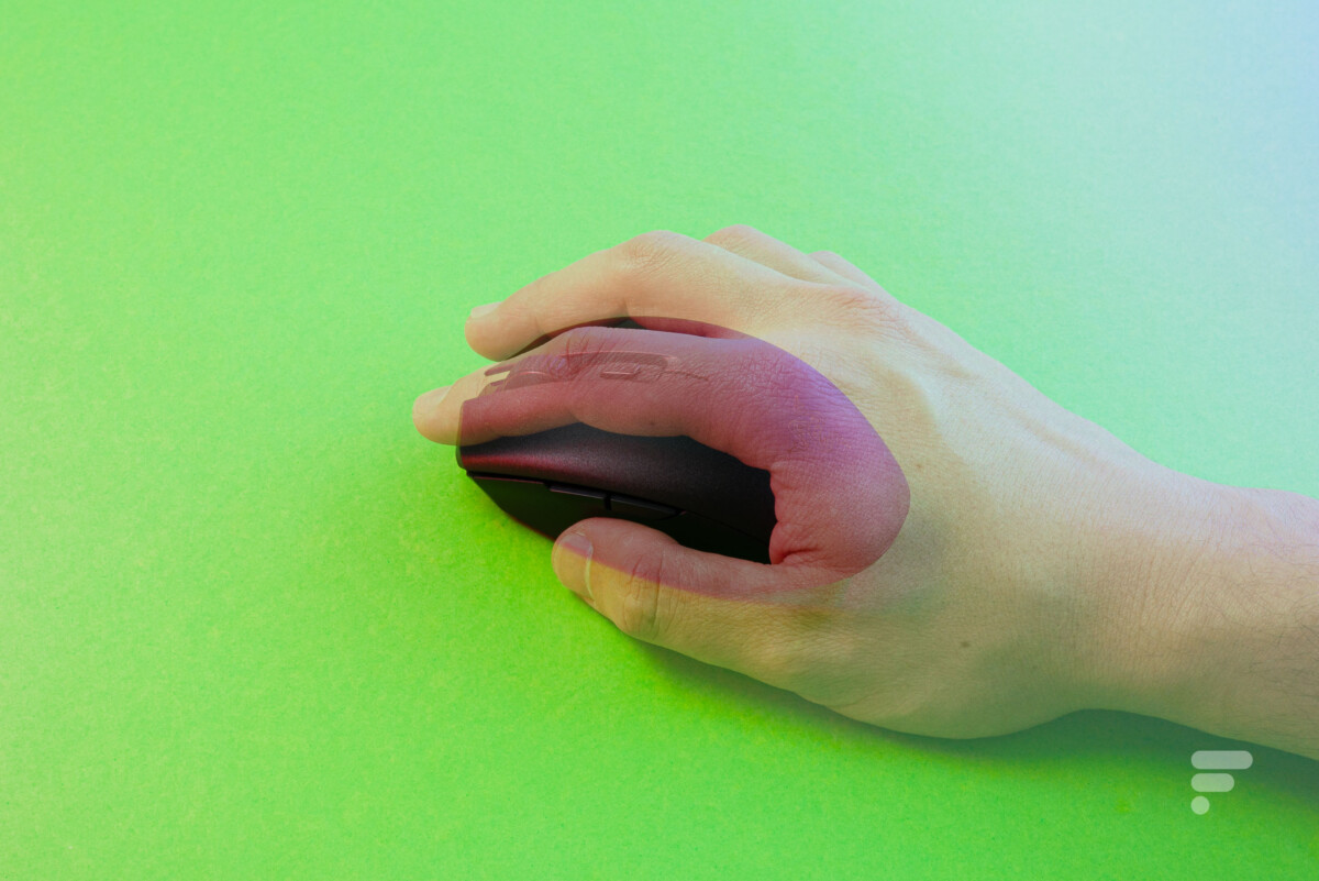"""Toutes les prises en main sont """"compatibles"""" avec la souris"""