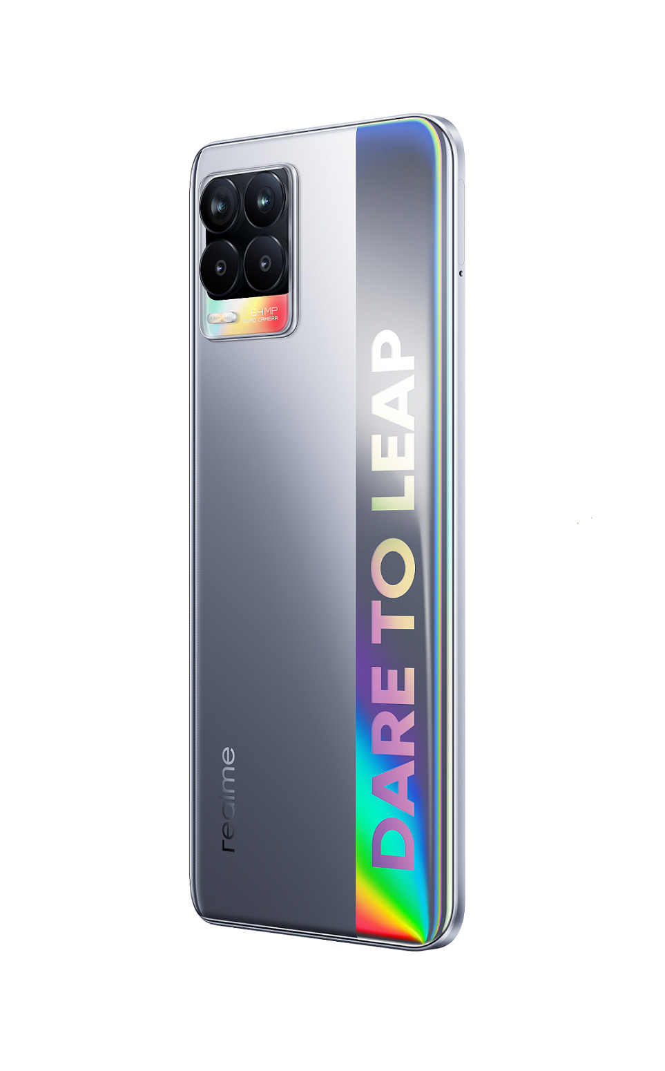 L'un des trois coloris disponibles à la sortie du Realme 8.