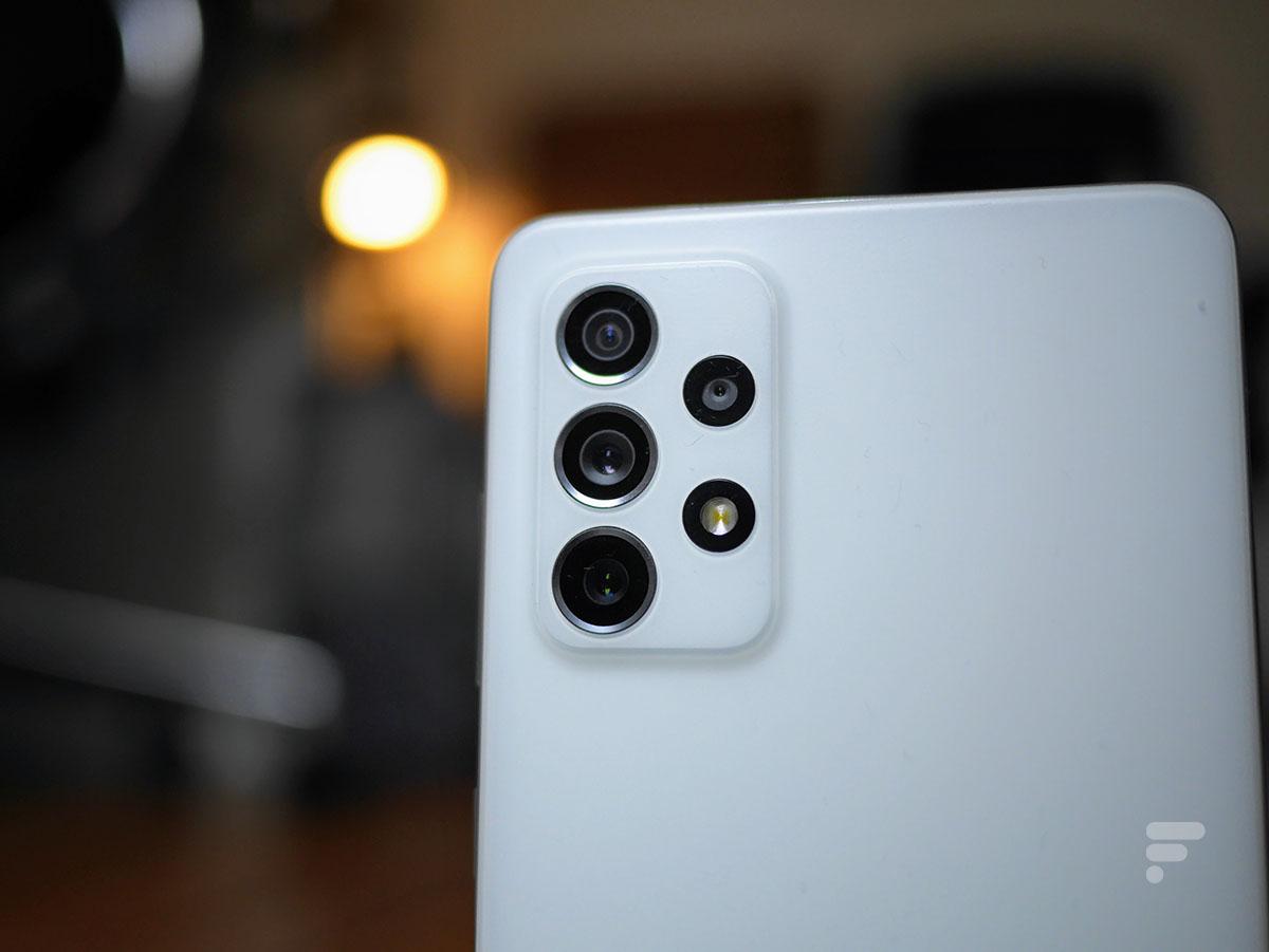 Le module photo du Samsung Galaxy A72