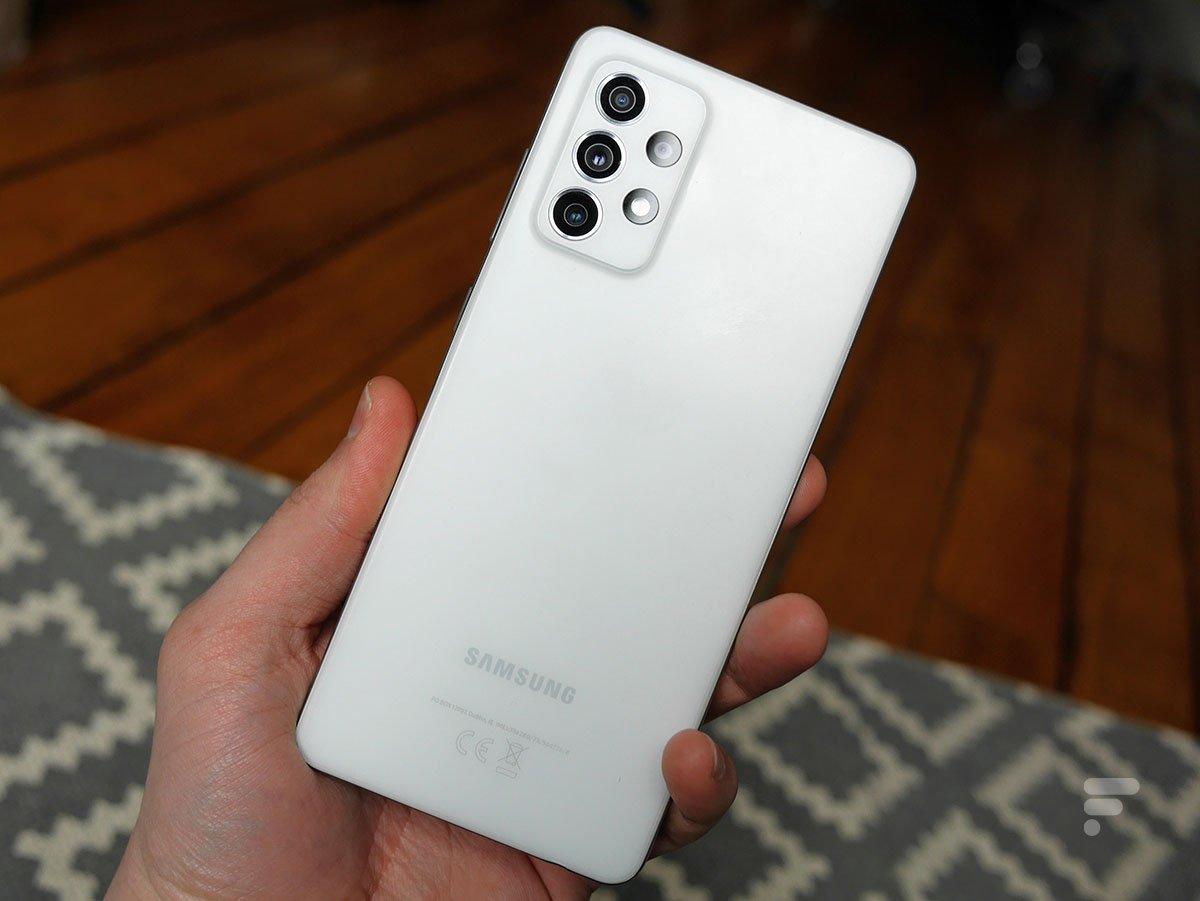 Le Samsung GalaxyA72