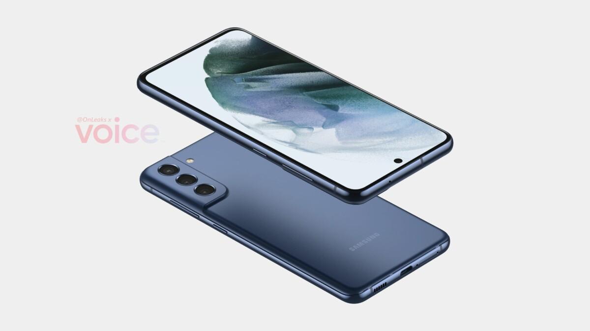 Rendu du Samsung GalaxyS21 FE