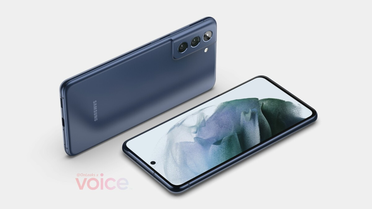 Render the Samsung Galaxy S21 FE