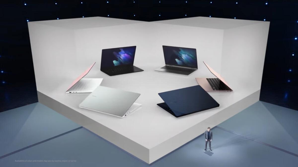 Les ordinateurs Galaxy Book de Samsung