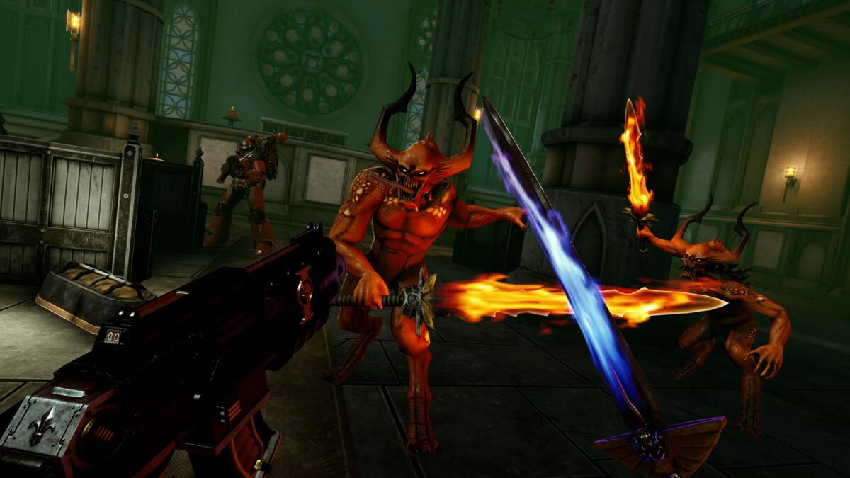 Warhammer40,000: Battle Sister