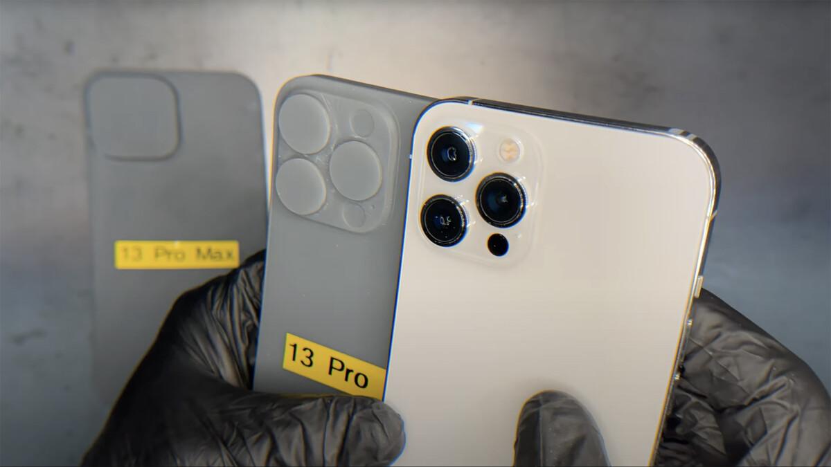 Le bloc photo de l'iPhone 13 Pro max serait beaucoup plus imposant que l'iPhone 12 Pro max.