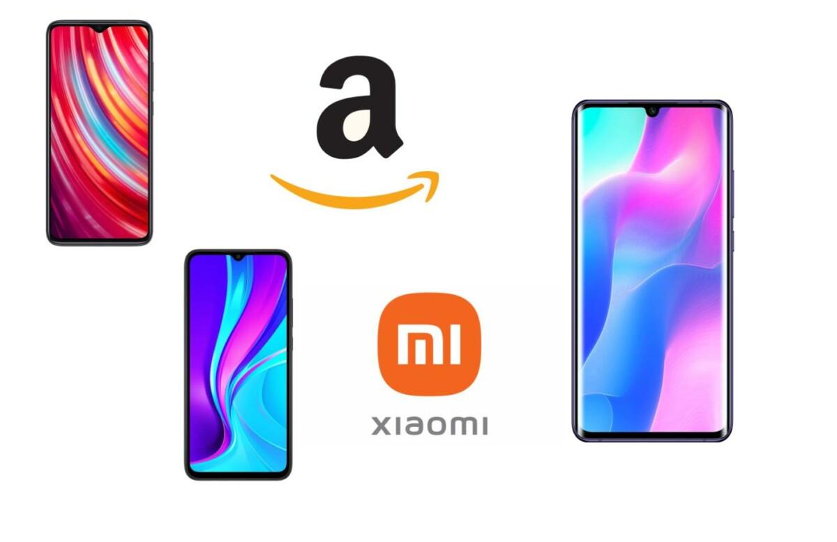 Une sélection de smartphones Xiaomi jusqu'à -30% sur Amazon