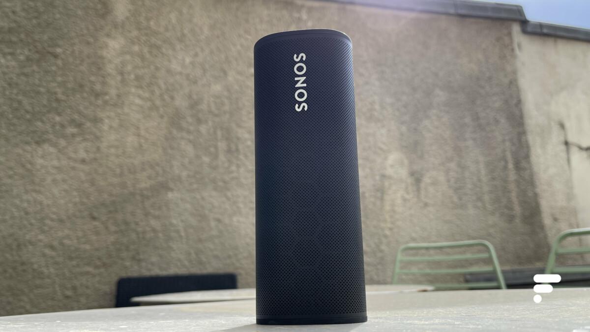 L'enceinte Sonos Roam calibre le son automatiquement quel que soit l'endroit