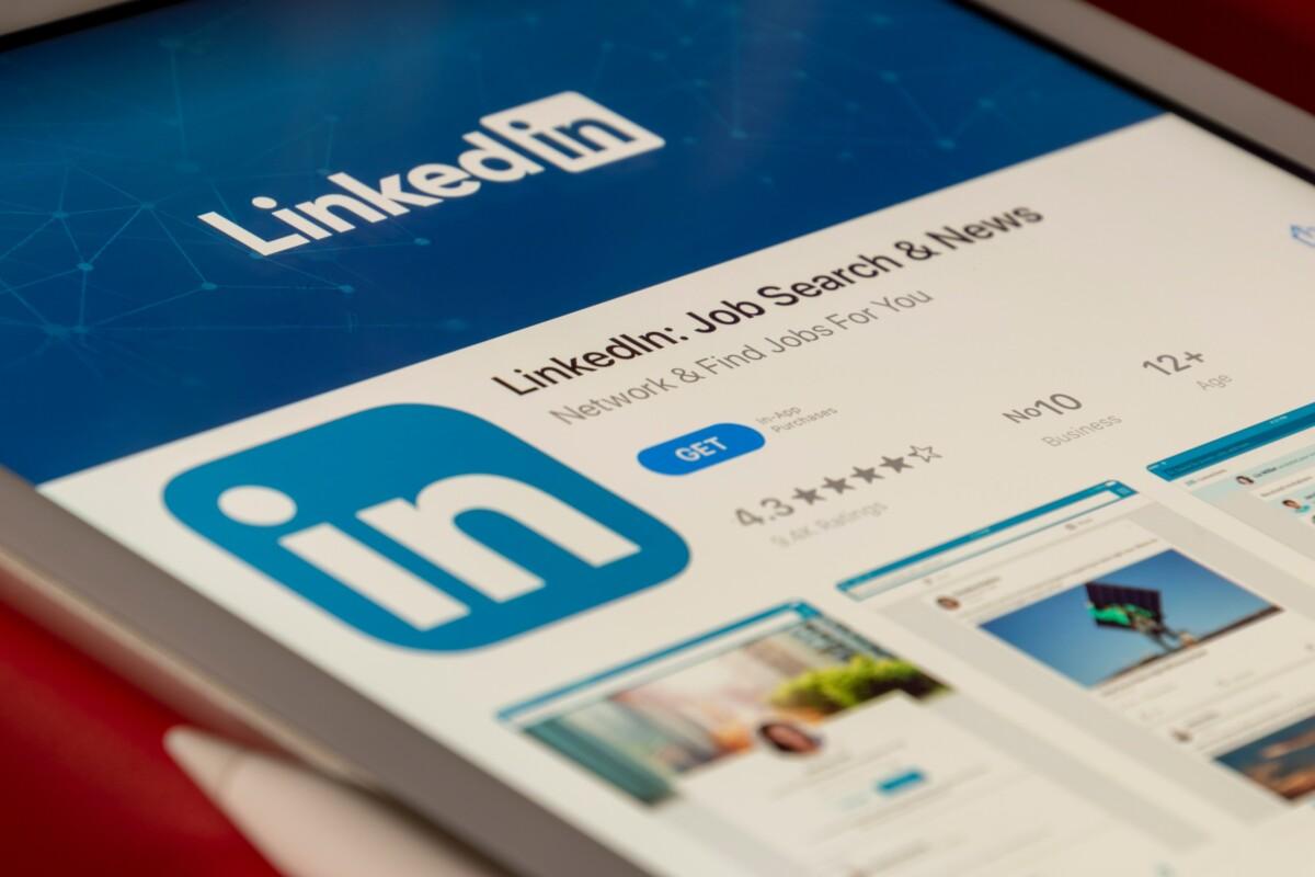 L'application LinkedIn