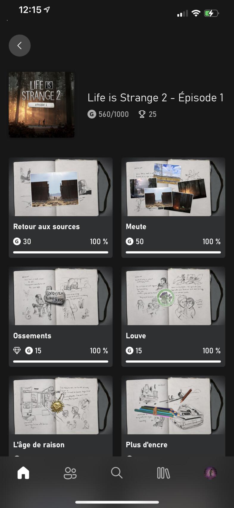 Les succès apparaissent enfin sur l'app Xbox