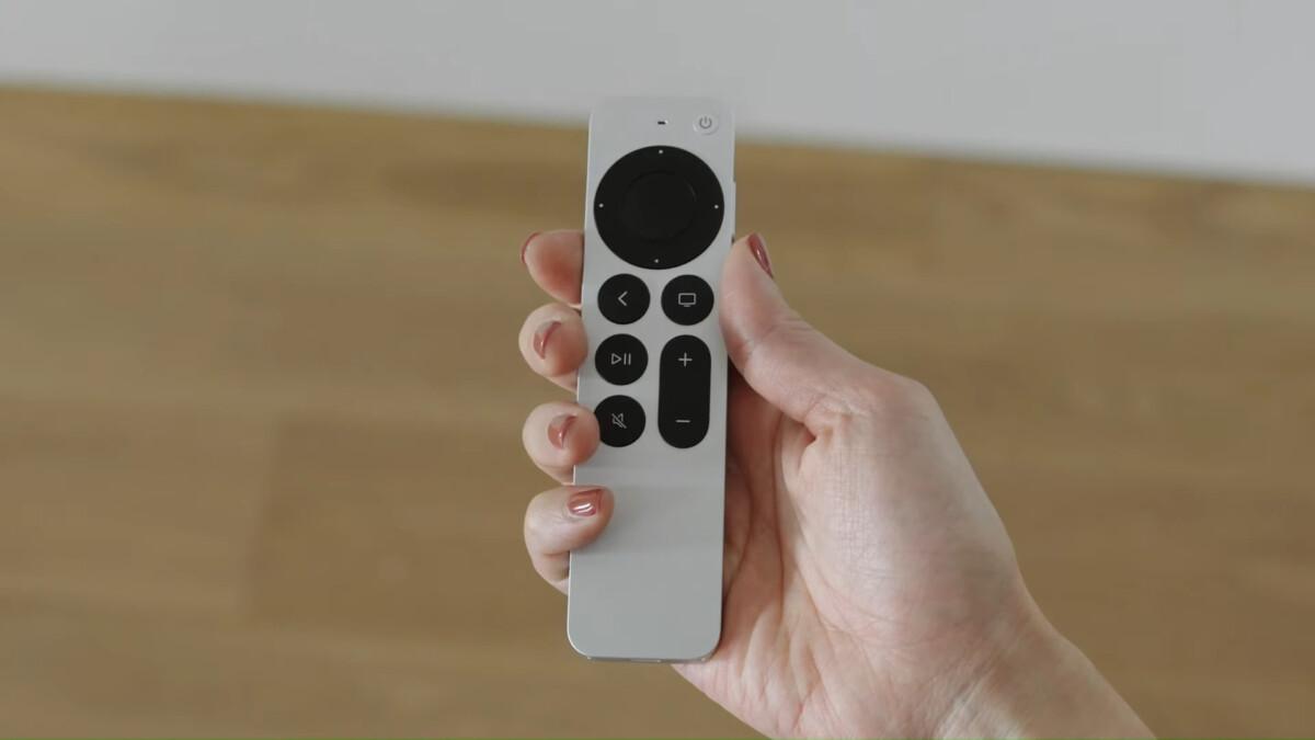Télécommande de l'Apple TV 4K 2021