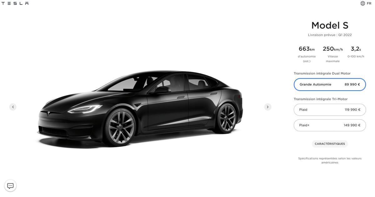Le Model S n'arrivera pas avant l'année prochaine en Europe