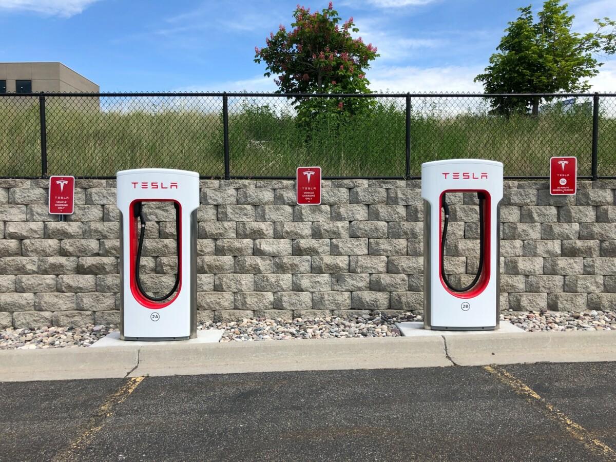 Tesla Superchargeurs