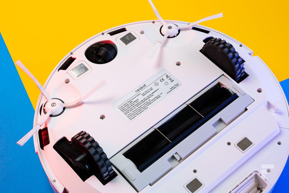 La conception du robot est similaire à de nombreux autres modèles du marché