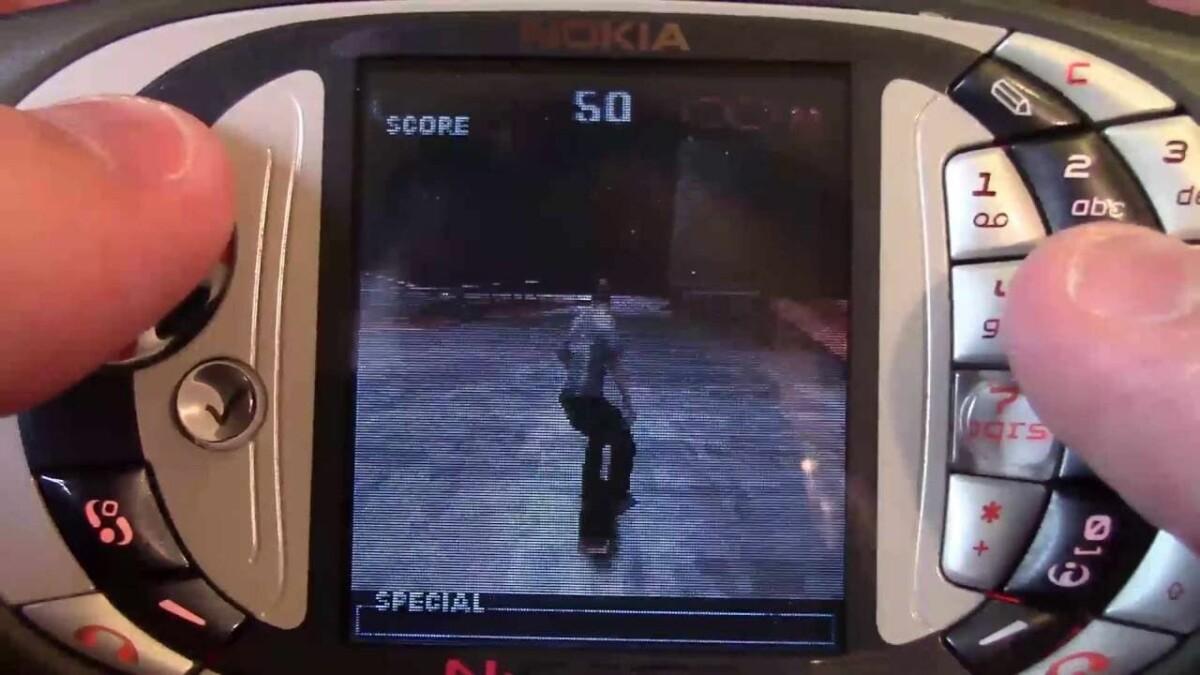 Tony Hawk Pro Skater sur Nokia N-Gage QD