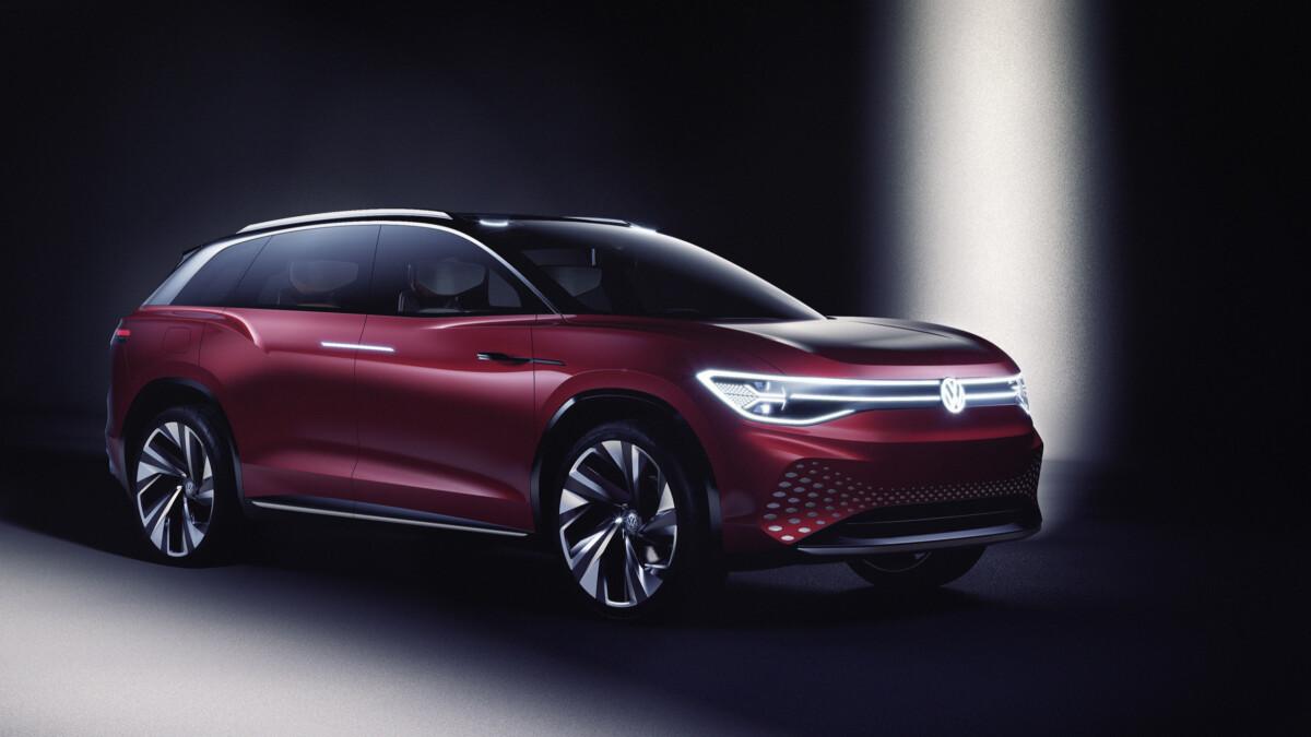 Concept Volkswagen ID.Roomzz au salon de Shanghai en 2019