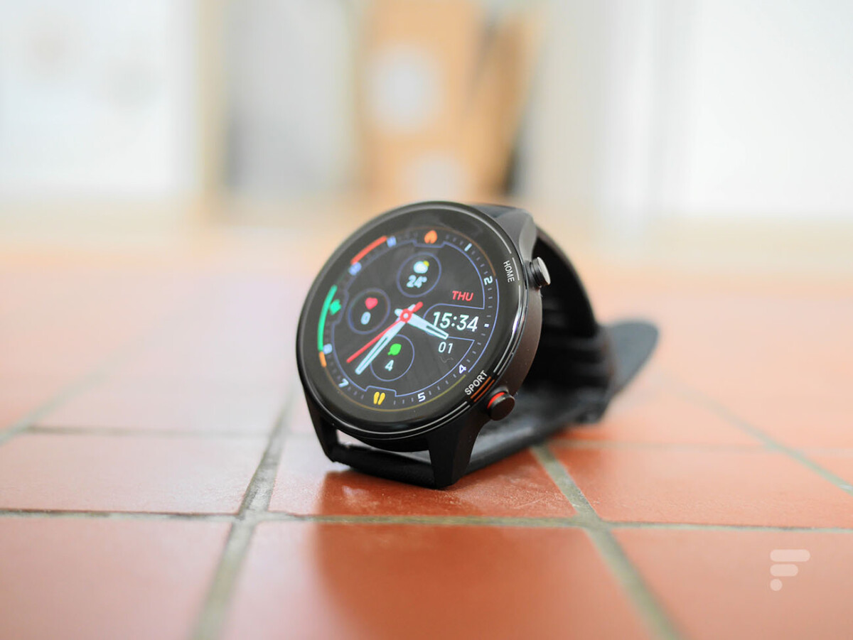 L'écran de la Mi Watch