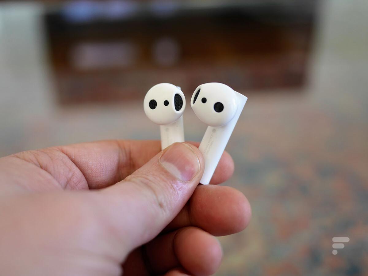 Les écouteurs Xiaomi Mi True Wireless Earphones 2S fonctionnent indépendamment l'un de l'autre