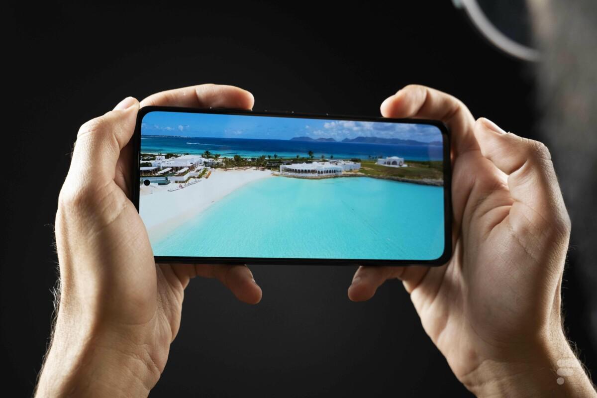 L'écran du Xiaomi Poco F3