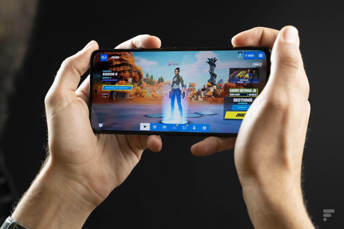 Fortnite sur le Xiaomi Poco F3