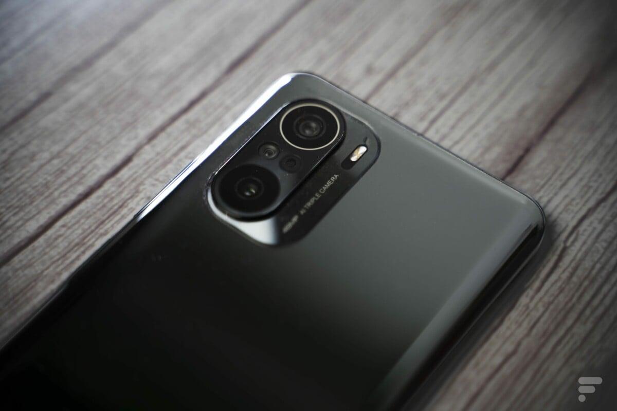 Module photo du Xiaomi Poco F3