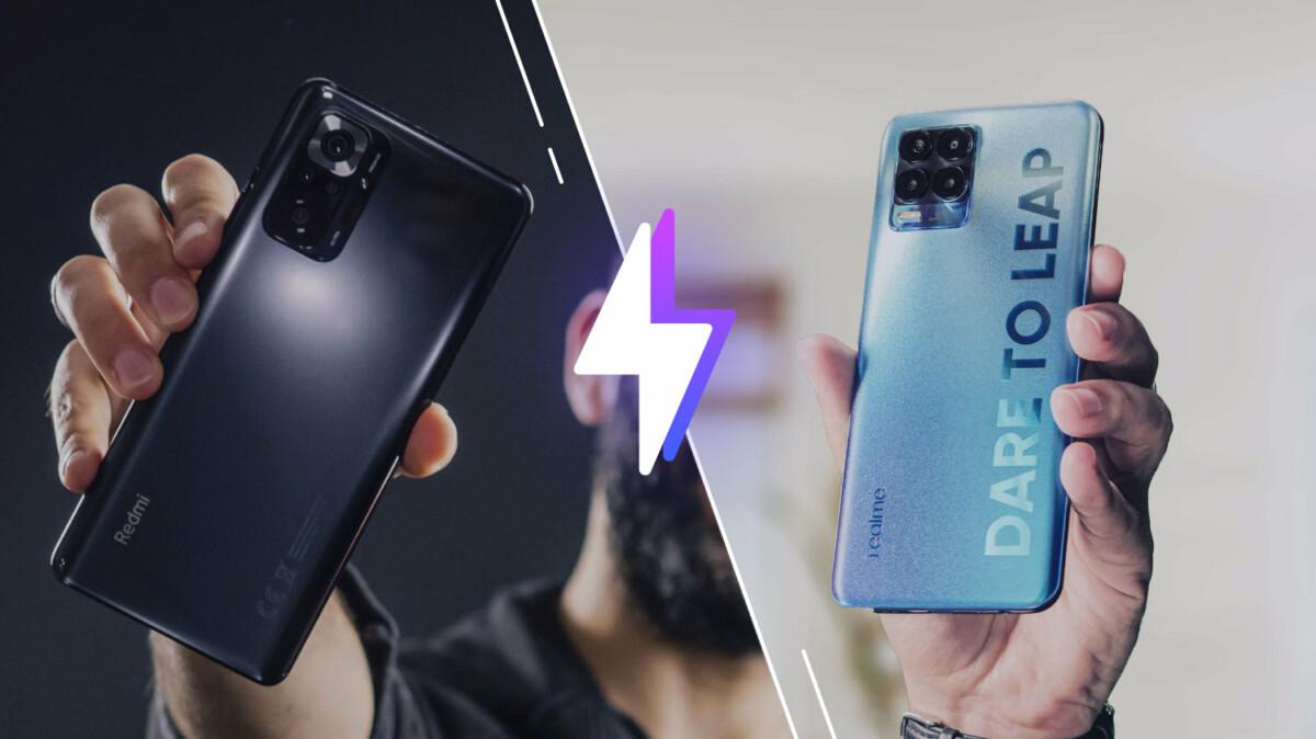 Xiaomi Redmi Note 10 Pro vs Realme 8 Pro