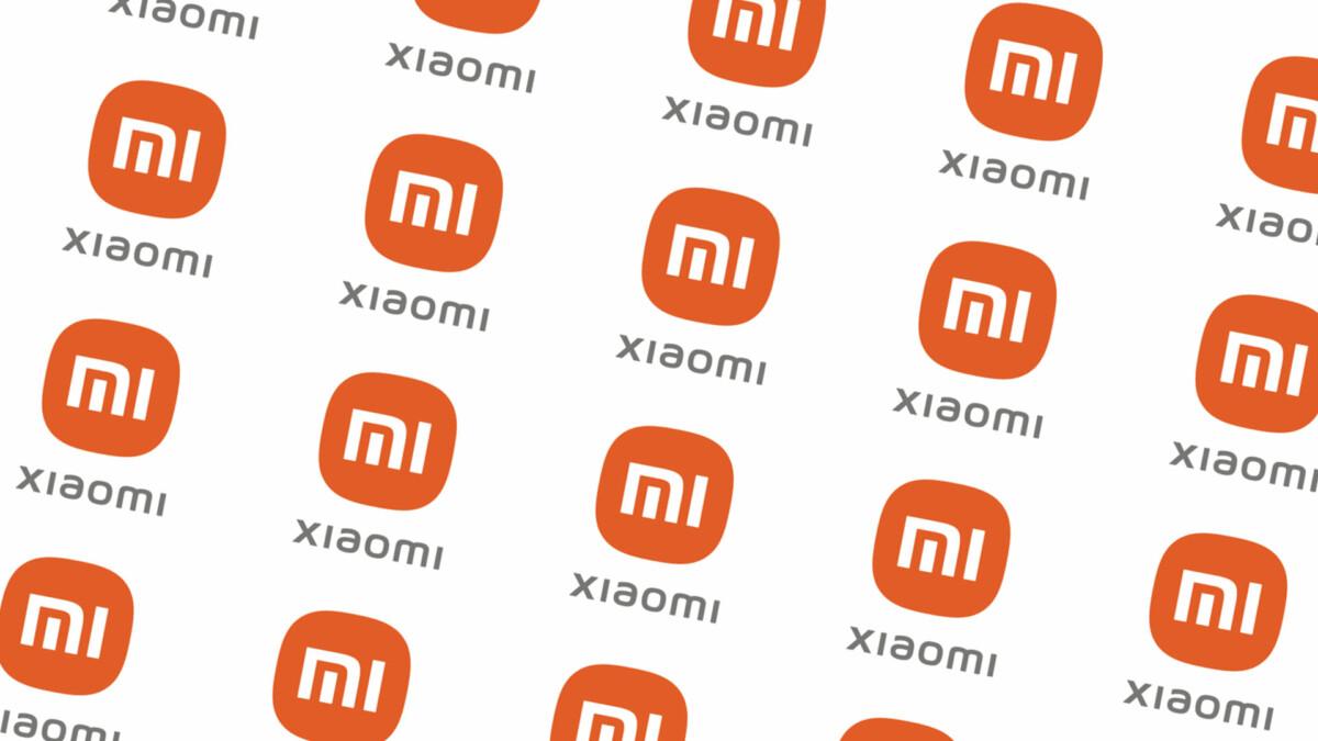 Logo Xiaomi apparaissant plusieurs fois