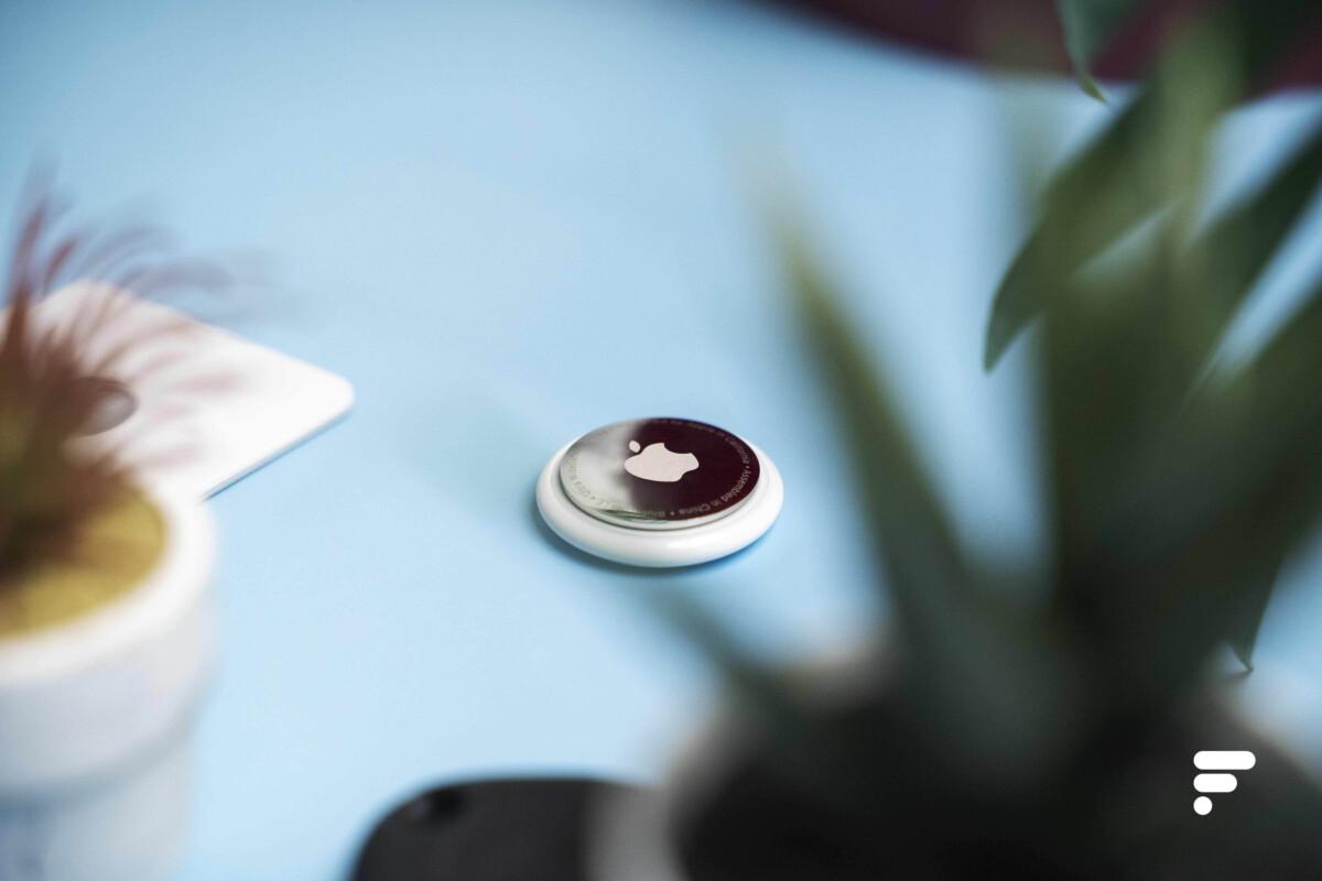 La balise Bluetooth Apple AirTag