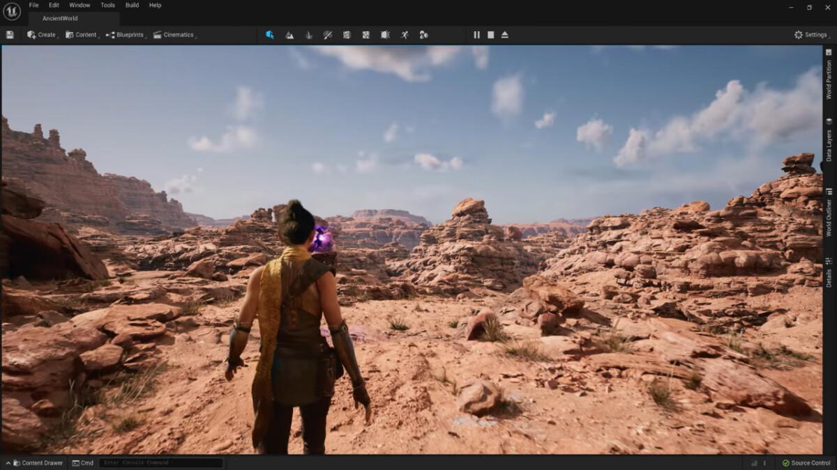 L'Unreal Engine 5.