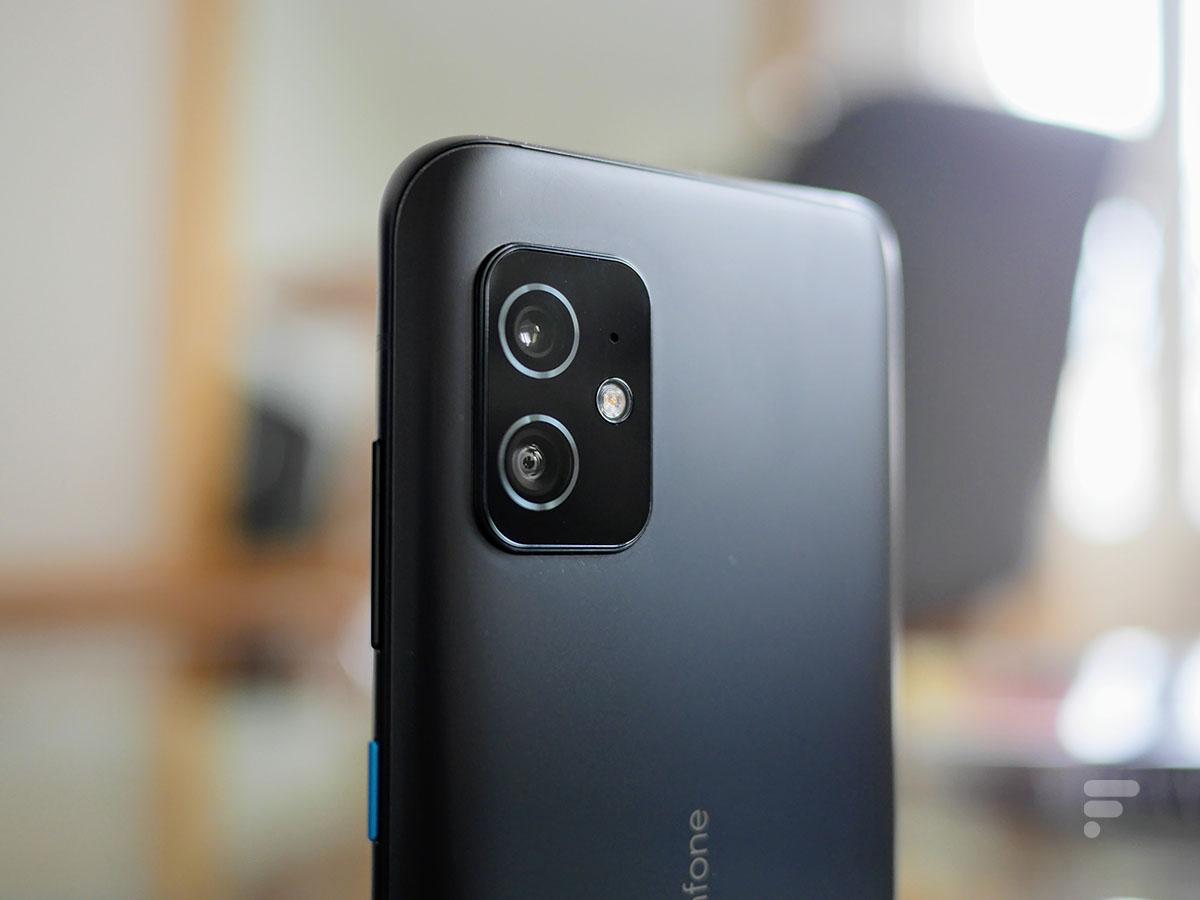 Le module photo de l'Asus Zenfone 8