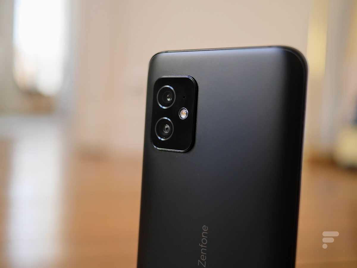 Le module photo du Zenfone 8