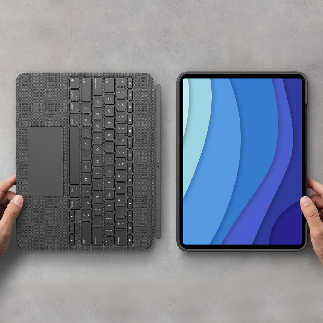 Le clavier du Combo Touch est détachable