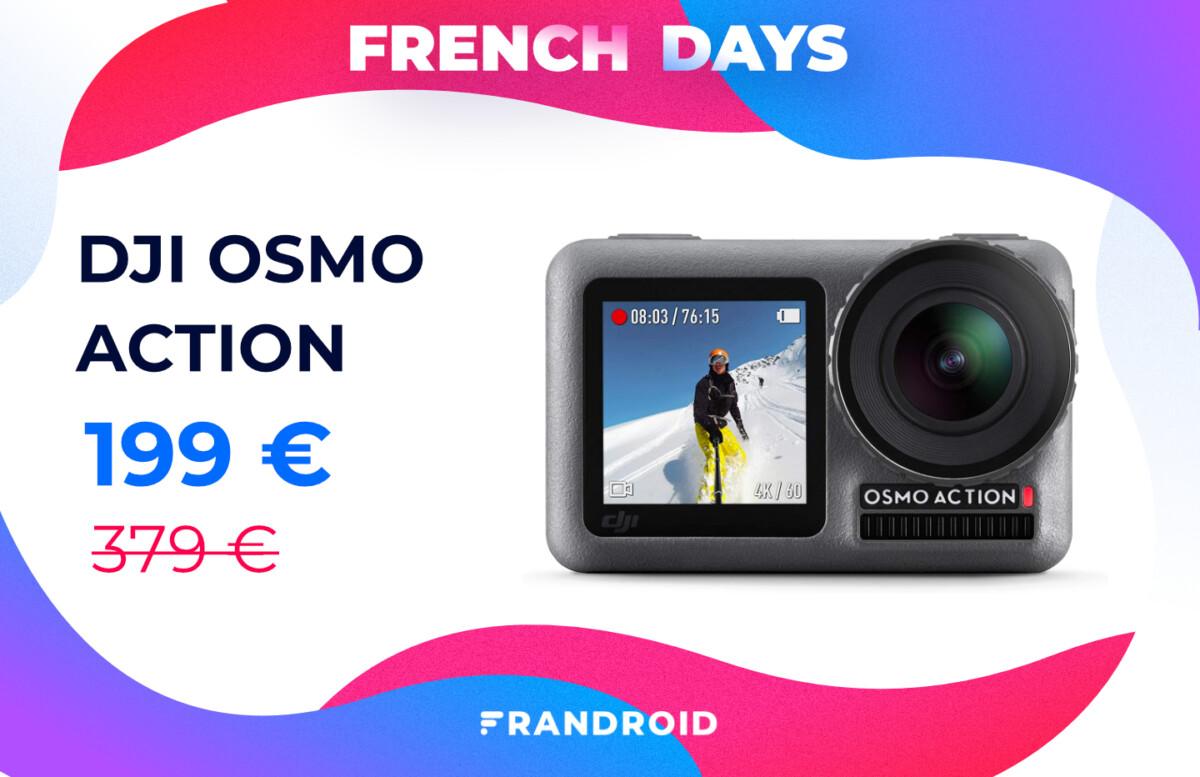 dji osmo action french days 1200x777 - Amazon fait aussi les French Days avec des tonnes de promotions dans son catalogue