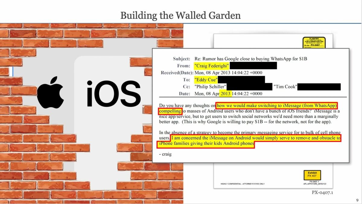 Epic Games veut montrer comment Apple a verrouillé iOS