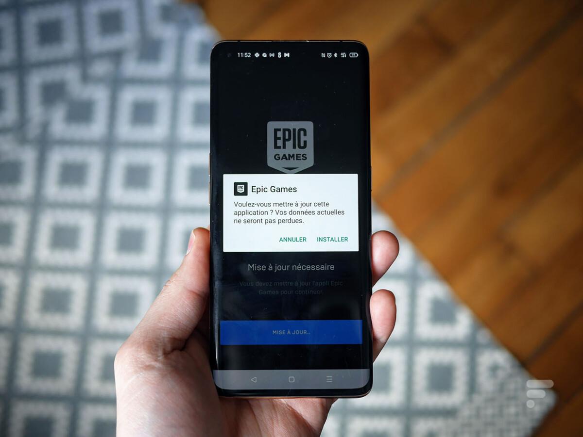 Pour mettre à jour l'Epic Games Store sur Android, il faut passer par plusieurs étapes