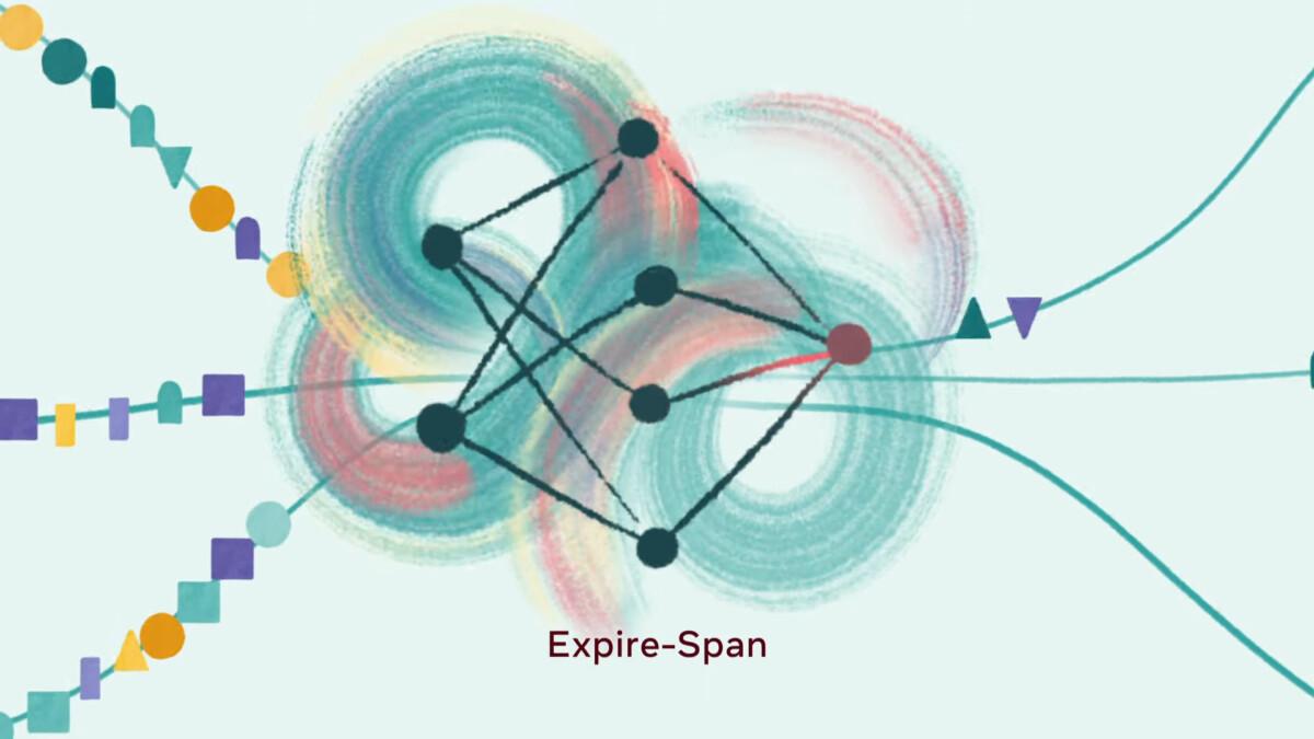 Expire-Span, la méthode de Facebook pour que l'IA apprenne à oublier les détails