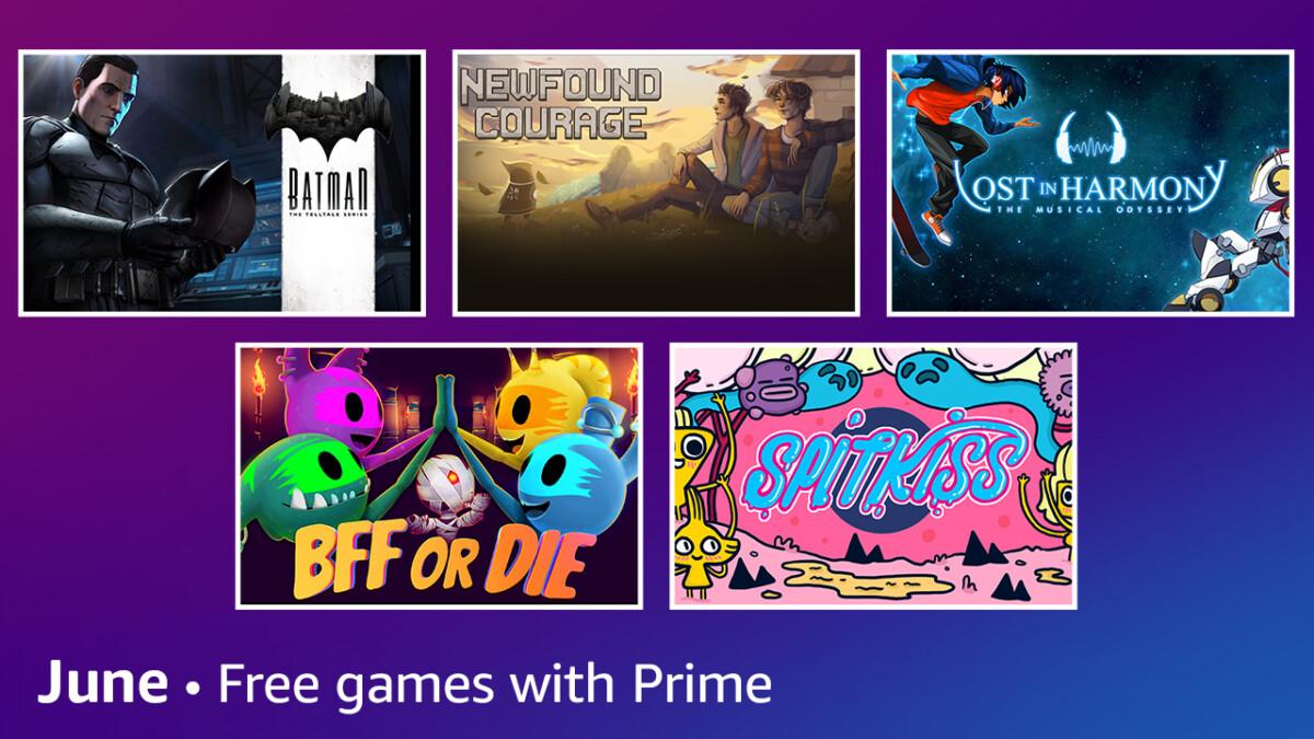 Les jeux offerts avec Prime Gaming en juin